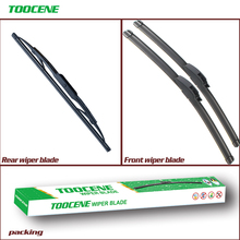 Front And Rear Wiper Blades For Hyundai Tucson 2004-2009 Rubber Windscreen Windshield Wipers Auto Car Accessories cheap toocene natural rubber 2005 2006 2007 2008 2017Year 0 3kg clean the windshield TC212 Ningbo China 24+16