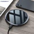 15 Вт Qi Беспроводное зарядное устройство для samsung S9 S10 S11 iPhone 11 X XS MAX XR 8 Xiaomi Mi 9 huawei P30 Pro USB C 10 Вт Быстрая зарядка