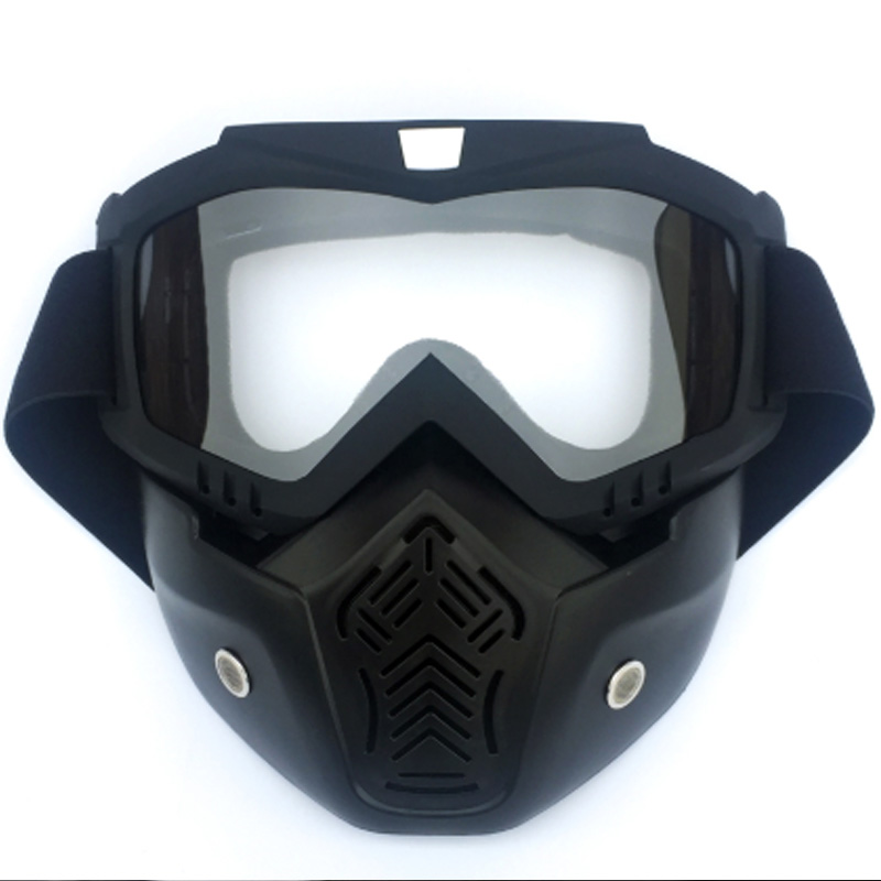 Super sell BOLLFO Motorcycle Cycling Helmet Mask Glasses Removable Goggles Waterproof HD Anti UV Eyewear for Off Road Moto Motor|Cycling Eyewear| |  -