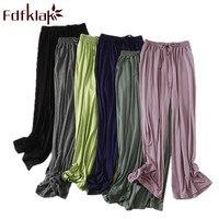 Fdfklak Modal Sleeping Pants For Women Pijama Pants Spring Autumn Lounge Wear Pyjama Trousers Sleepwear 6 Colors