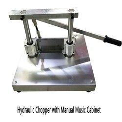 Dozownik ręczny hydrauliczne żebra kielnia handlowa instrukcja do cięcia maszyna do cięcia świni trotters stóp świni kielnia