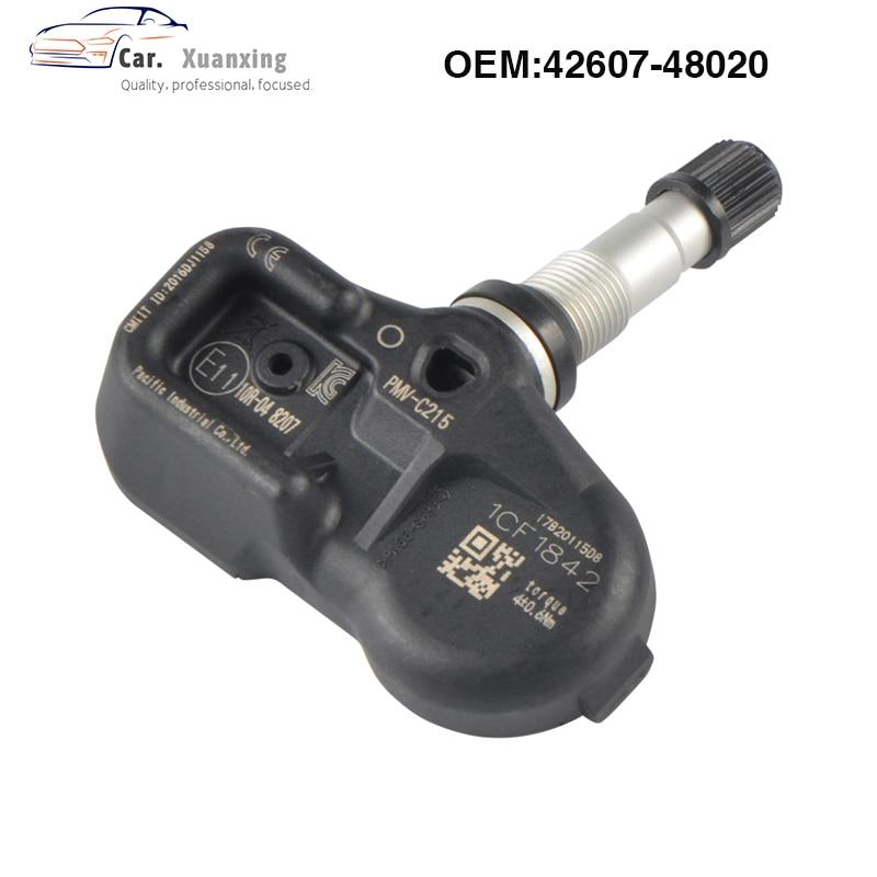 4260748020 Tire Pressure Sensor Monitoring System 433MHz PMV-C215 For Toyota Land Cruiser Prado C-HR Camry Lexus LX 42607-48020