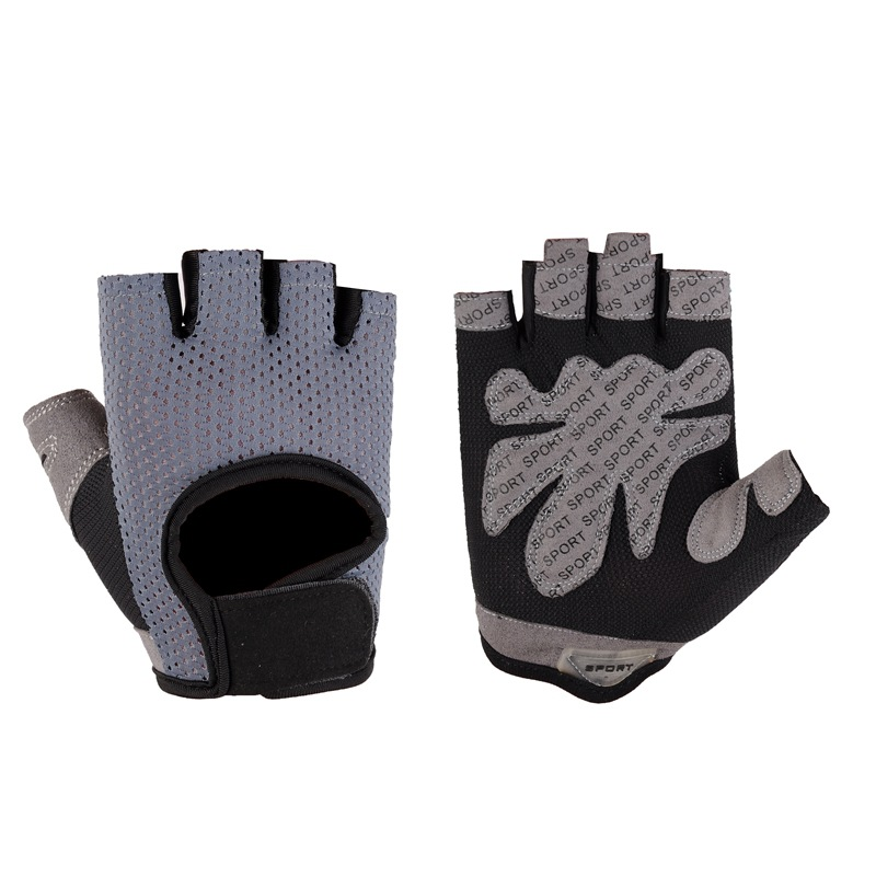 Cycling Gloves Half Finger Summer Outdoor Sports Shockproof Ultra-thin Breathable Bike Gloves Mens Women's MTB Bicycle Gloves
