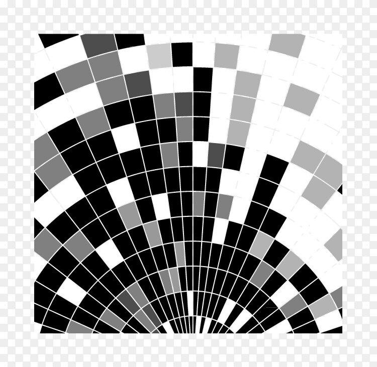 彩色方块黑白几何学 科学盒背景png图片素材免费下载 图片编号 Png素材网