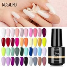 ROSALIND Nail Polish 7ml UV Gel Polish All For Nail Art Design Manicure Semi Permanent Painting Decoration Need Base Top Coat