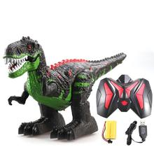 Snaen Remote Control Dinosaur Electric RC Toys Walking Tyrannosaurus Rex Rechargeable Dino for Boys Kids with Light and Sound