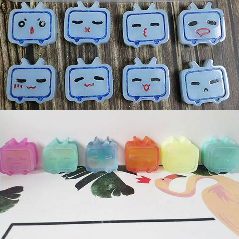 Cartoon TV Pendant UV Resin Molds Jewelry Silicone Mold Jewelry Making Tools