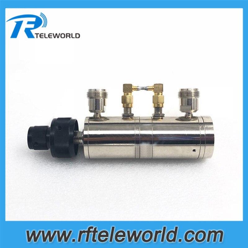 N femelle à femelle 2W 6GHz 100dB bouton atténuateur variable manuellement 1db atténuateur étagé