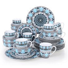 VEWEET AUDRIE 32-Piece ceramiczne porcelanowy talerz zestaw stołowy z talerz obiadowy talerzyk deserowy miska do płatków 380ml kubek zestaw tanie tanio MALACASA CN (pochodzenie) Zachodnia Porcelany Barwiona PLANT Ce ue Lfgb Ekologiczne AUDRIE-32 Other Zestawy obiadowy