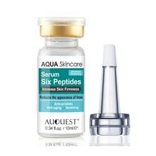 Six Peptides Face Serum Liquid Hyaluronic Acid And Anti-wrinkles Whitening Colla
