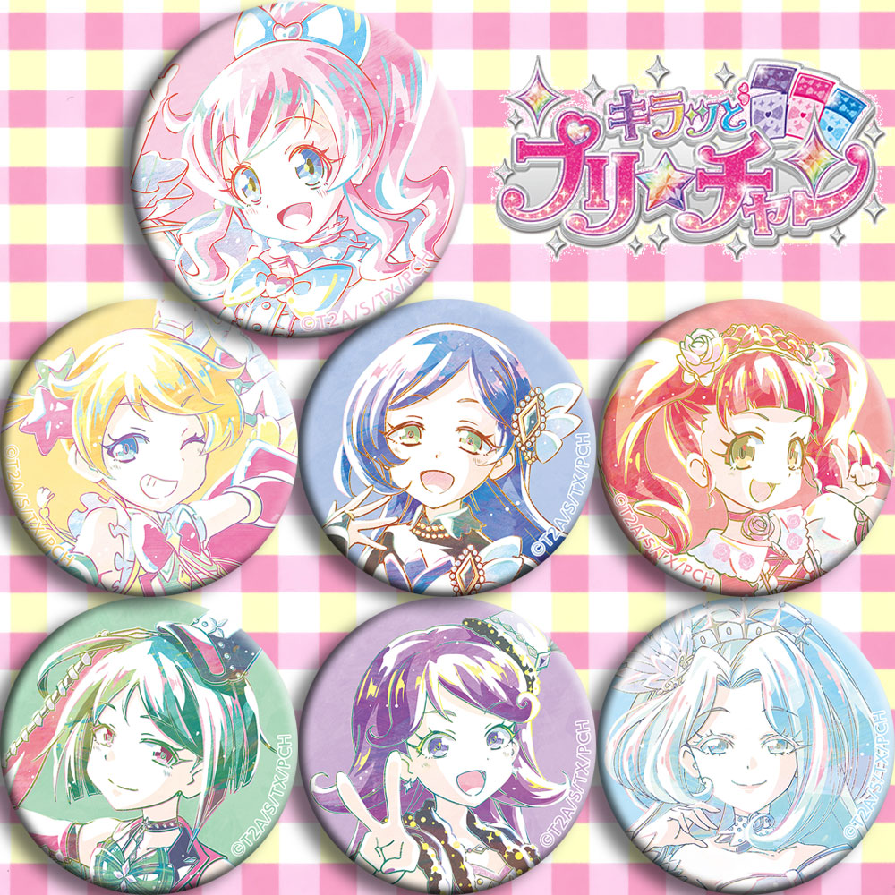 Japan Anime Pretty Channel Taoshan Future Cosplay Badge Cartoon Brooch Pins Collection Backpacks Badges For Bags Button Gifts