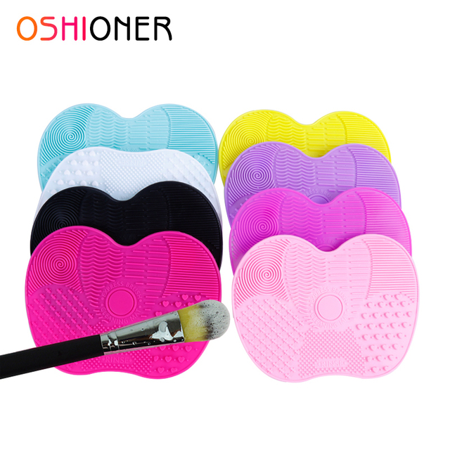 OSHIONER-brosse de maquillage en Silicone, gant, accessoire cosmétique, 1 pièce