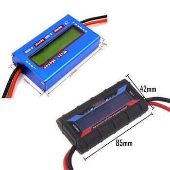 Wattmeter High Precision Power Meter RC Watt Meter Balance Voltage Battery Power Analyzer 150a analyzer current power meter uav precision parts aeromodel model tester