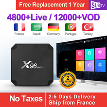 X96 MINI IPTV France Box Android 7.1 S905W France Arabic IPTV SUBTV Subscription