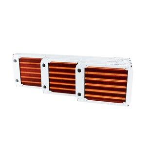Image 4 - 120/240/360mm su soğutma tüm bakır radyatör için 12cm Fan bilgisayar soğutucu soğutucu ana 30mm kalınlığı gümüş/siyah, kırmızı V3