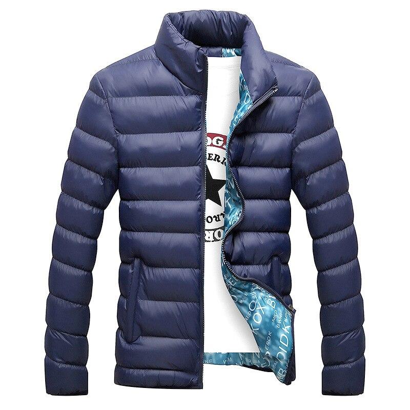 Autumn Winter Jacket Men Parka Down Cotton Coat Plus Size Mens Clothes Winter Jackets Parkas Hombre 2020 0723 KJ2643