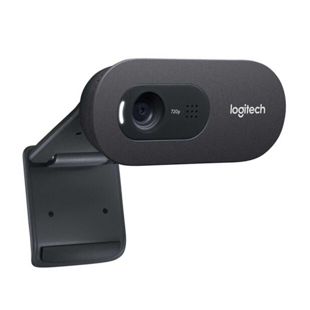 Logitech C270i IPTV HD webcam dahili mikrofon USB2.0 Mini bilgisayar kamera PC Laptop için