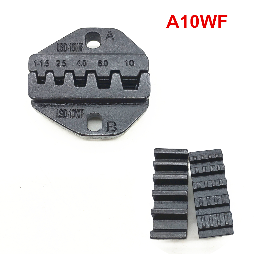 Crimping Jaw A10WF Crimping Die Set For Cable End Sleeves 27-7AWG 1-10mm2