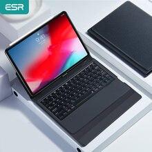 Чехол esr с беспроводной bluetooth клавиатурой для ipad 11 дюймов