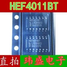 10pcs HEF4011BT HEF4011 SOP14