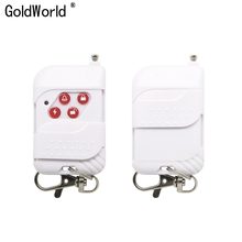 Remote-Control-Button Home-Alarm-Systems Wireless for My-Own 2pcs Plastic