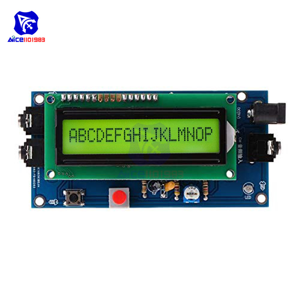 Diymore Ham Radio Essential Morse Code Reader CW Decoder Morse Code Translator Module With 1601 LCD Display