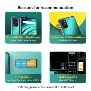 "Image 2 - UMIDIGI A9 Pro 6GB 128GB SmartPhone Global Version Unlocked 48MP Quad Camera 24MP Selfie Helio P60 6.3"" FHD+ Smart Phone celular"