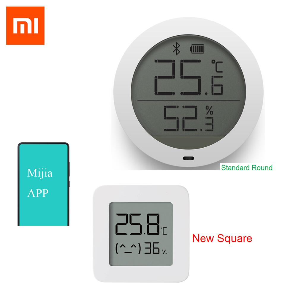 Xiaomi Mijia Bluetooth Temperature Smart Humidity Sensor Digital Thermometer 2 Optional Newest Version Moisture Meter Mijia APP