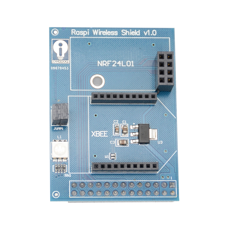 Wireless Extension Board For Raspberry Pi Support For Zigbee XBee NRF24L01 NRF24L01+