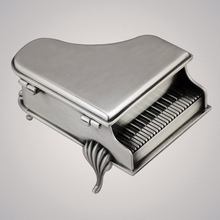 Piano embossed music box metal spring type Canon video box birthday Christmas gift кровати box spring