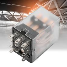 цены BEMM3C DIN Rail 11 Pin 5A Mini Power Intermediate Relay Electromagnetic Relay Moudle