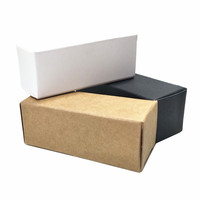 Wholesale Kraft Paper Essential Oil Bottle Packaging Box Foldable Carton Board Lipstick Packing Box Papercard Mini Gift Pack Box