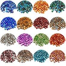 6/8/10mm mieszane kolory Rondelle Austria fasetowane paciorki szklane koraliki dystansowe luzem okrągłe koraliki do tworzenia biżuterii DIY bransoletka naszyjnik
