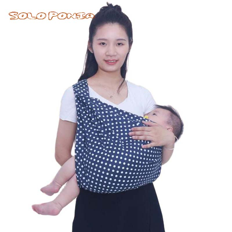 Soft Infant Wrap 0-3Y Baby Carrier Sling For Newborns Breathable Wrap Hipseat Breastfeed Birth Nursing Cover Backpack 5956
