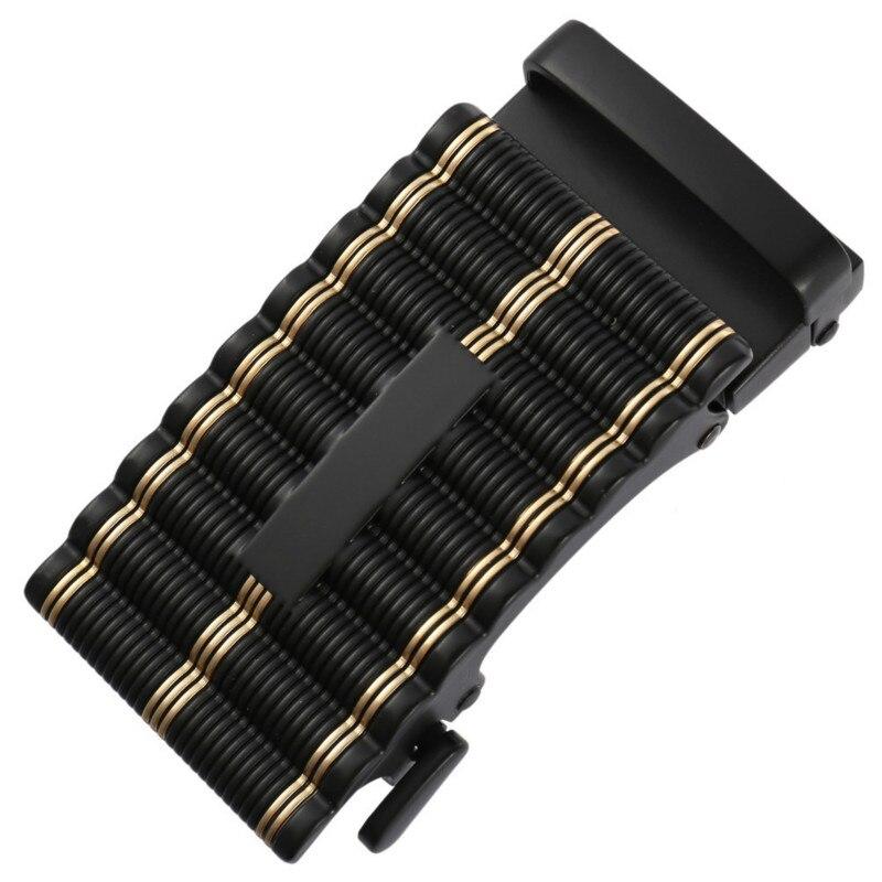 Fashion Men's Business Alloy Automatic Buckle Unique Men Plaque Belt Buckles 3.5cm Ratchet Men Apparel Accessories LY136-561942