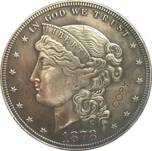 1878 United States $1 Dollar coins COPY Type 2(China)