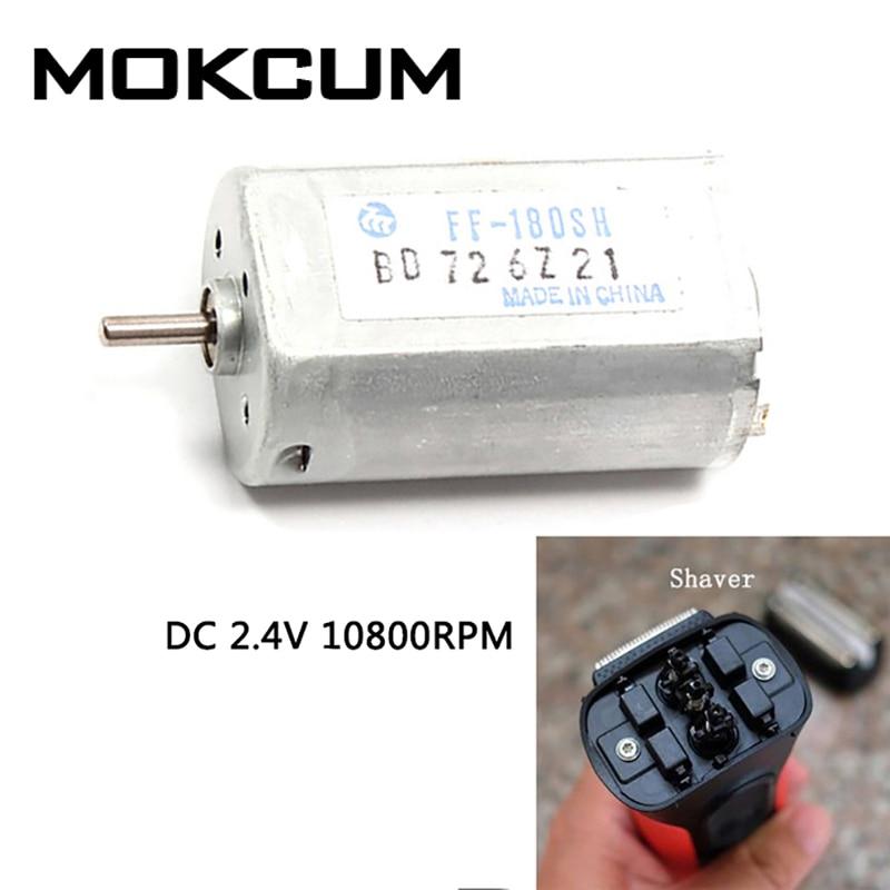 MABUCHI FF-180SH DC 1.5V 2.4V 10800RPM Mini Motor Electric Shaver Toothbrush DIY