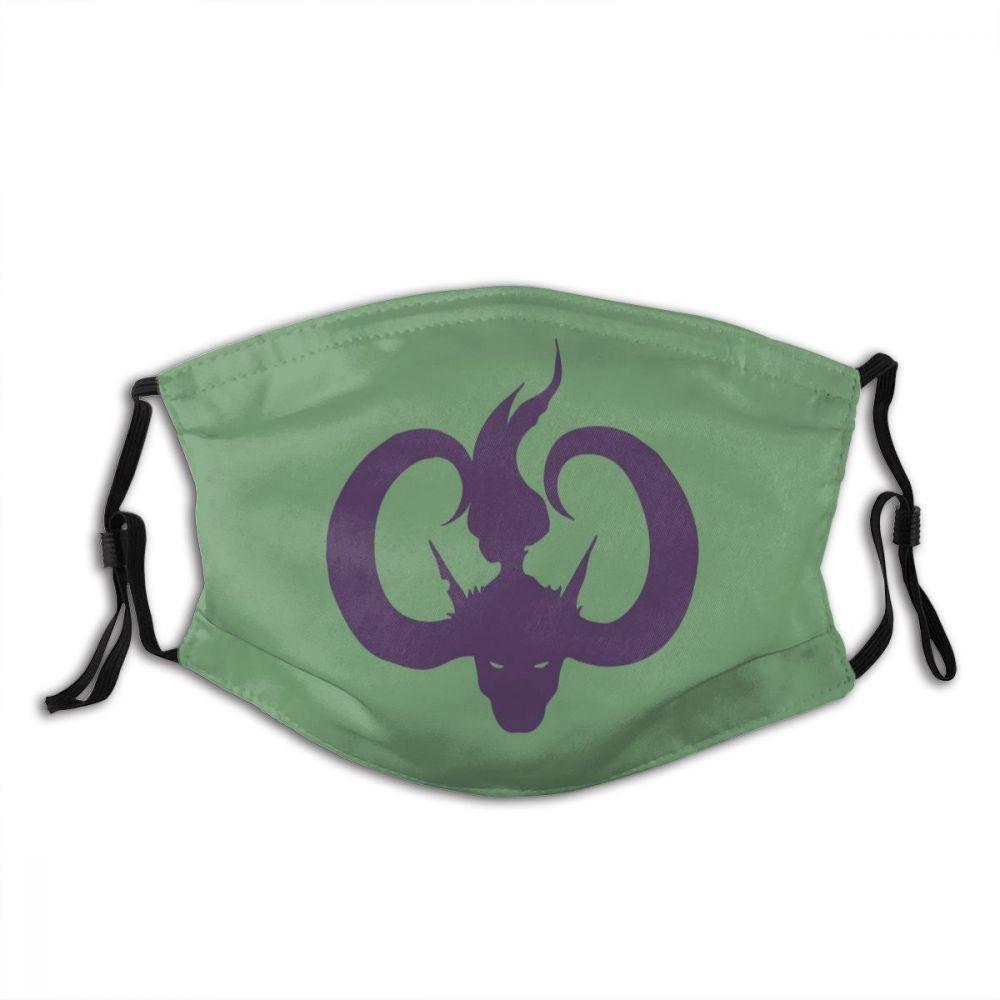 Иллидана ярости бури Wow маска для взрослых многоразовая против дымки анти пыли защитный респиратор Маска с фильтрами