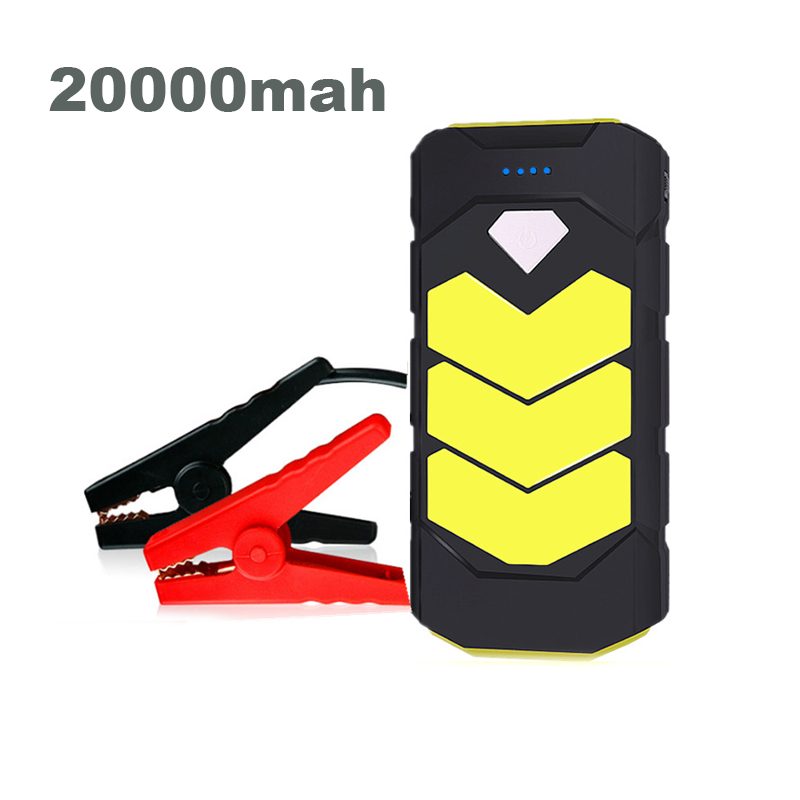 High Power Starting Device 20000mAh <font><b>Car</b></font> Jump Starter Power Bank 12V 400A Petrol Diesel <font><b>Car</b></font> <font><b>Charger</b></font> For <font><b>Car</b></font> <font><b>Battery</b></font> Booster image