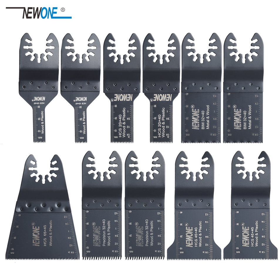 11 Pcs Quick Change Oscillating Multi Tool Saw Blade Accessories,good Price And Fast Devliery,for FEIN  Power Tool,metal Cutting