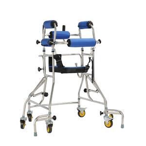 Image 3 - MHKBD 6 bánh xe Đi Bộ Viện Trợ Anh Cả Walker Tuổi Người Tập Đi Hình Đi Bộ Phục Hồi Chức Năng Thiết Bị Chống lạc hậu Rollover Kệ