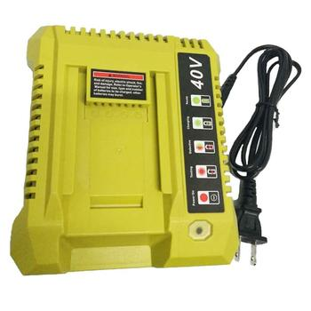 2020 New 40V Lithium-ion Battery Charger For Ryobi OP401/OP4040/OP4040A/OP4050A Amercian Regulations Rechargeable Power Tool