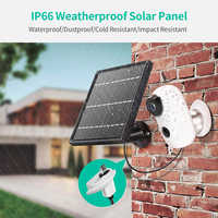 Solar panel Rechargeable Battery 1080P Full HD Outdoor Indoor Security WiFi Camera Solar Battery CCTV Camera