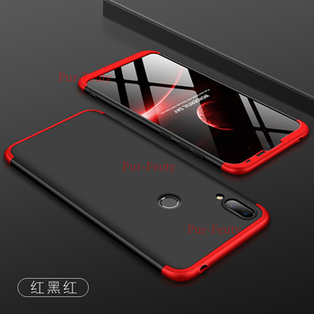 Para Huawei y62019 Y6 primer Pro 2019 cubierta trasera de silicona para Huawei Y6 Y 6 2019 MRD-LX1 MRD-LX1F casos duro 3 en 1 Shell mate