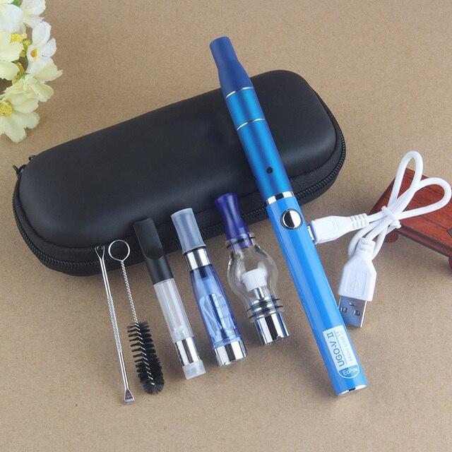 4 الكل في واحد Ugo V2 عدة مرذاذ أعشاب شمع جافة قلم Vape إلكترونيّ سيجارة 650mAh/900mAh بطارية مع Ce4/Ce3 مرذاذ مرذاذ Vape عدة