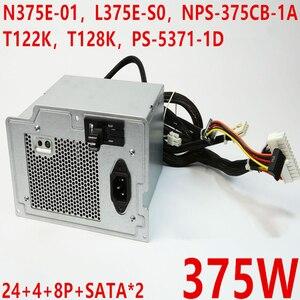 Nova FONTE de ALIMENTAÇÃO Para Dell PowerEdge T310 375W Power Supply N375E-01 L375E-S0 NPS-375CB-1A T122K T128K PS-5371-1D