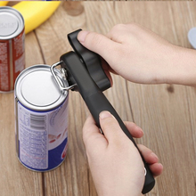 New Multifunctional Plastic Professional Stainless Steel Kitchen Tool Can Opener Safety Single Handle Side Cut Manual Can Opener single handle can safe can opener kitchen can plastic can opener manual bottle opener