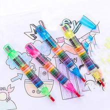 Colored Crayons Stationery Oil-Pastel Painting Drawing-Supplies Kids Cute 20-Colors/Pcs