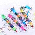 Милые кавайные мелки, пастельные масляные креативные цветные ручки для граффити для детей, принадлежности для рисования, студенческие канц...