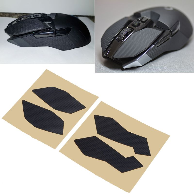 Original Hotline Games Mouse Skates Side Stickers Sweat Resistant Pads Anti-slip Tape For Logitech G900 G903 Mouse